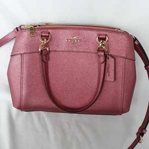 Coach Mini Brooke Leather Satchel